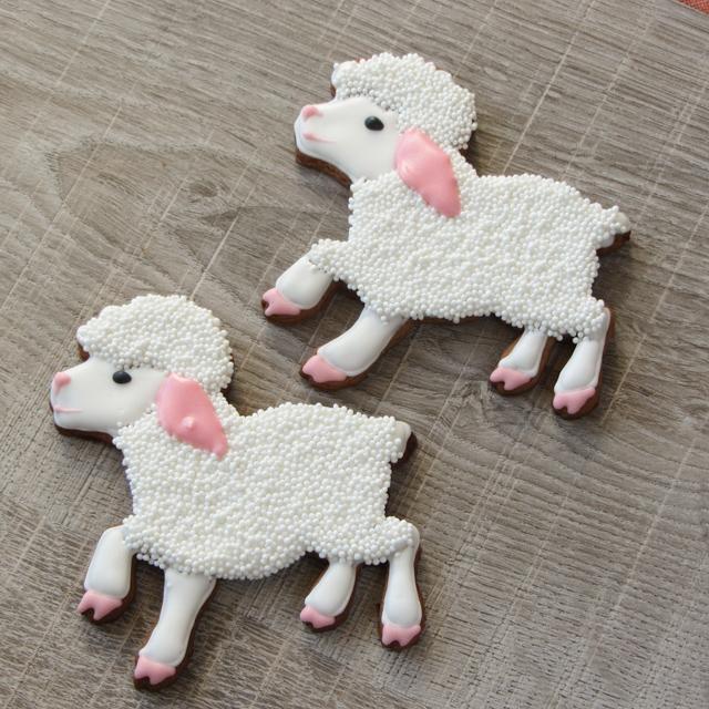 Пряники расписные овечки