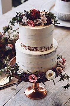 Торт свадебный многоярусный