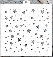 Stencil «The stars and confetti», 1 pc.
