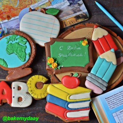 "Cookie cutter ""Books"" Форма ""Стопка книг"""