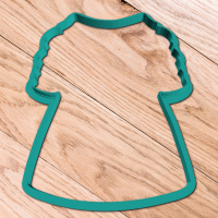 Cookie cutter «Dress with sleeves»