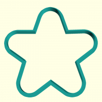 Cookie Cutter Star 2
