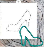 Cookie Cutter+Stencil «Shoes 3»