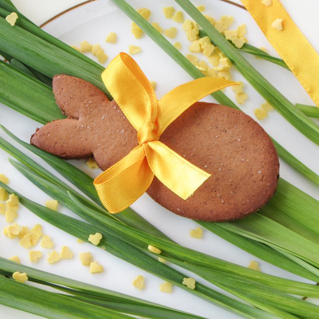 Печенье в форме зайчика