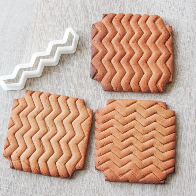 Chevron cookie cutter