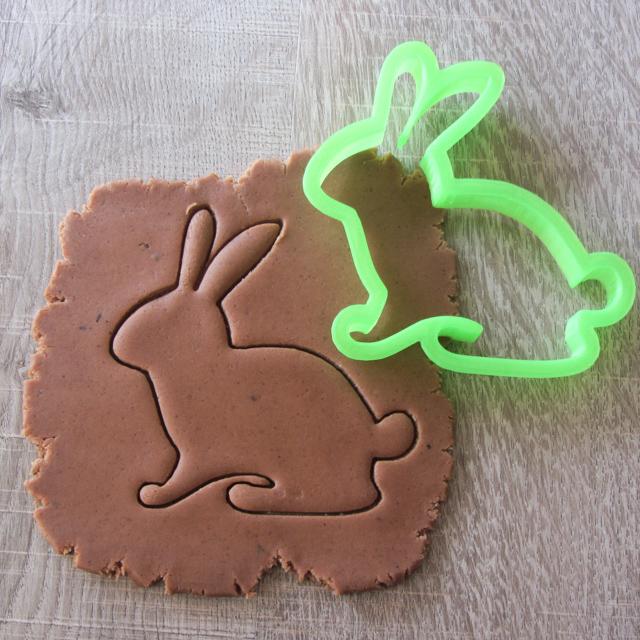 Формочка для печенья зайчик