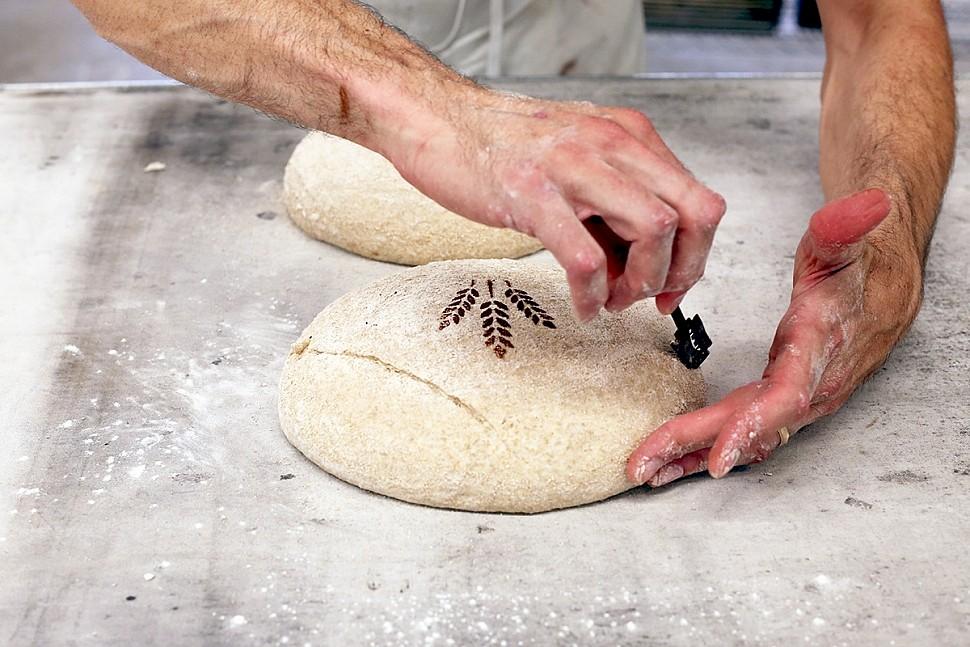 Украшаем хлеб : Хлеб, батоны, багеты, чиабатта 94
