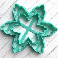 Christmas snowflake cookie cutter #2