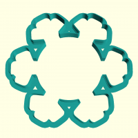 Cookie Cutter «Christmas snowflake 2»