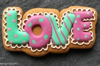 Cookie Cutter+Stencil «Love 2»