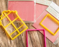Cookie cutters +stencils Set