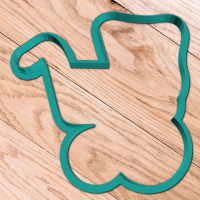 Cookie cutter «Baby carriage 2»