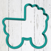 Cookie cutter «Baby carriage 3»