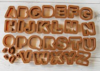 Cookie cutter set English Letter 26 pcs