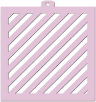 Stencil «Wide strips 2», 1 pc.
